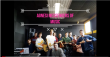 "Gli studenti del laboratorio  musicale ""Messengers of music"" - Liceo Agnesi"